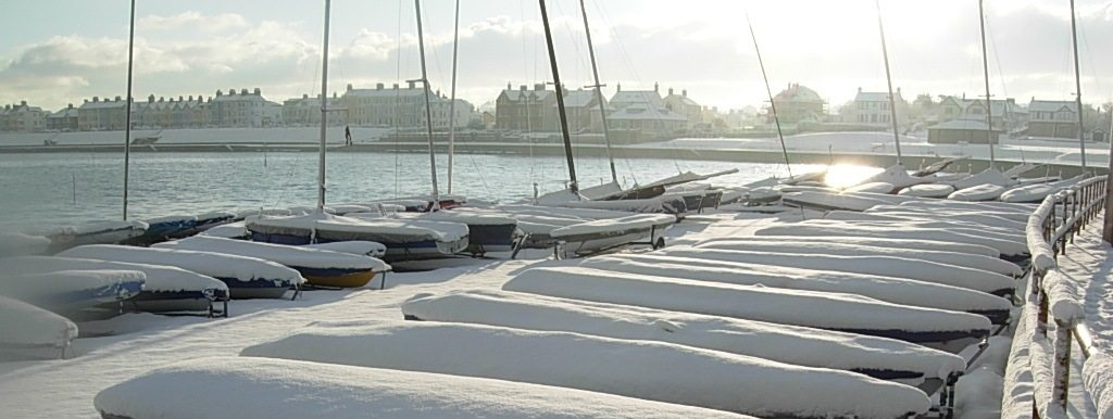 Ballyholme under snow