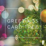 greetings card tree
